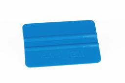 Raclette souple bleue utilisée pour les films 2D et 3D