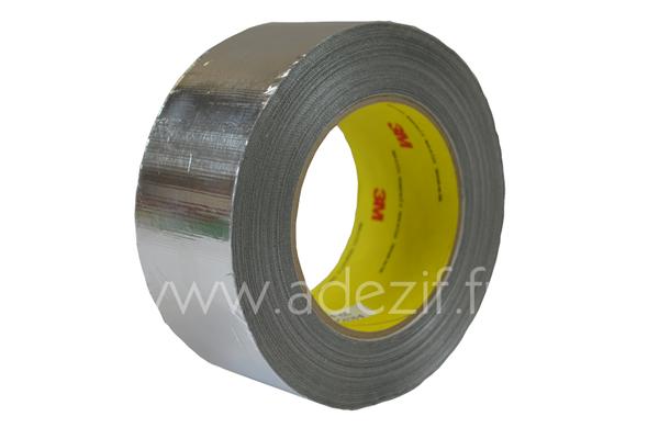 Ruban adh/ésif en aluminium et polypropyl/ène.