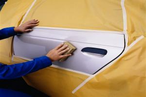 Ruban adhésif masquage peinture automobile