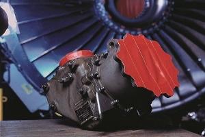 Ruban adhésif masquage sablage et grenaillage toile rouge tesa 4651