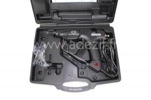 pistolet pour colle chaude adezif HM 360 dans une valise noire