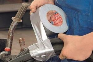 application ruban adhésif duct tape Tesa 4688