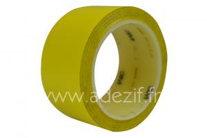 Adhésif scotch pour marquage au sol 3M 471 couleur jaune