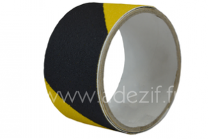 Ruban adhésif antidérapant ADEZIF SW 034 jaune et noir