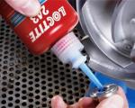 Colle anaérobie Loctite pour frein filet 243