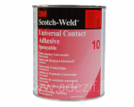 3M scotch weld 10 colle néoprène en pot de 1 L