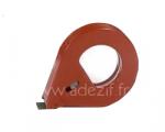 dévidoir manuel rouge métallique pour l'emballage, le cerclage ou le banderolage