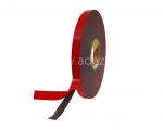 3M 4611 VHB mousse acrylique spécial métaux gris avec protecteur rouge