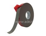 Ruban adhésif mousse acrylique pour pose à froid gris avec protecteur rouge ADEZIF MV843
