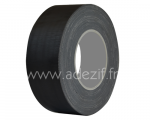 Ruban adhésif toile noire mat - ADEZIF TO 850