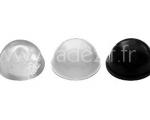 butées rondes 3M noires blanches et transparentes