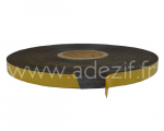 ruban adhésif magnétique noir avec protecteur jaune adezif AM 250