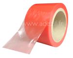film adhésif rouge translucide pour la protection de surface avec une moyenne adhésivité