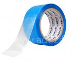 Ruban adhésif polyéthylène anti adhérent transparent avec protecteur bleu ADEZIF PE 421