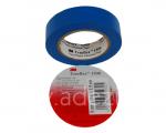 ruban adhésif simple face en PVC bleu 3M temflex 1500 pour isolation électrique