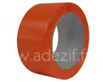Adhésif PVC orange multi usages bâtiment